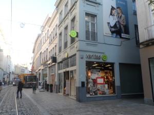 Veldstraat nr 73 - hoek Conduitsteeg - Veritas