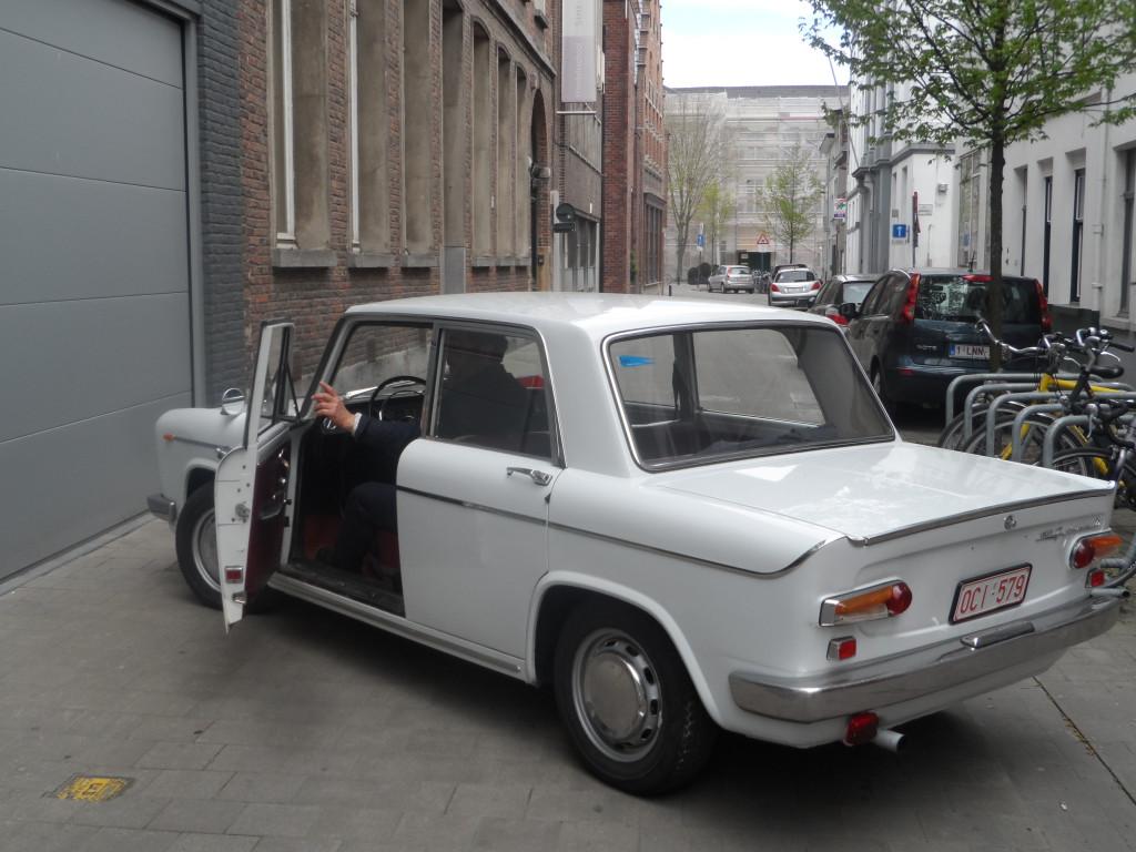Gildestraat - Lancia Fulvia Berlina GTE uit 1968