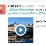 retweet visit gent - onze video over Gent