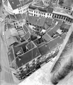 Korte Ridderstraat - Stadhuis - voor 1960