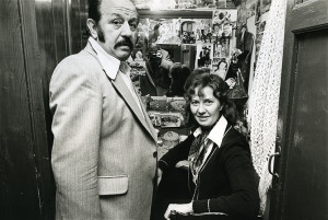 Romain De Coninck en Yvonne Delcour in 1977 - pic romain100.be