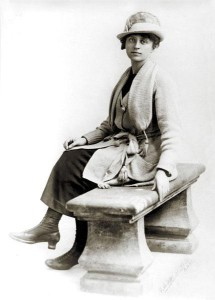 Irène Van der Bracht - pic ugentmemorie