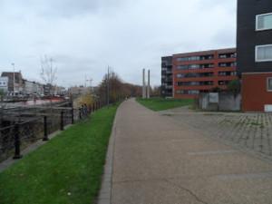 Sidonie Verhelststraat is een fiets- en wandelpad