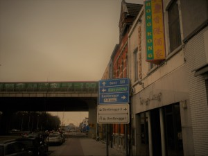 Brusselsesteenweg - Chinees restaurant - Gentbrugge