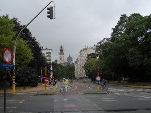 Frère Orbanlaan - Acht Mei plein in Albertpark