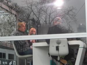 Eddy Planckaert en Wouter Vandenhaute