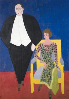 Paul-Gustave en Honorine in 1924 - door Frits vandenberghe