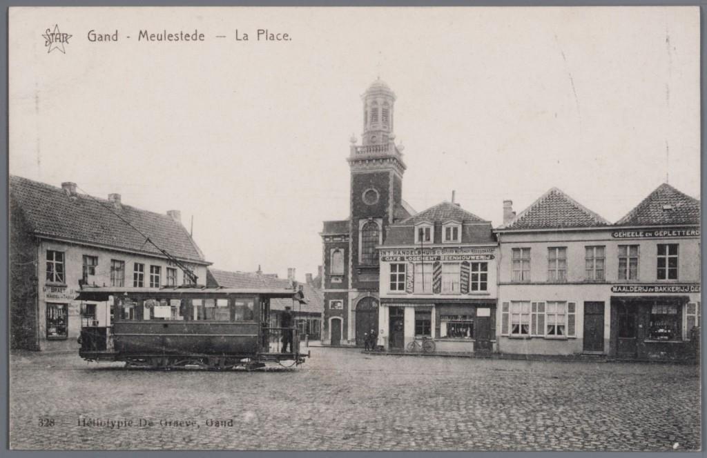 Meulestede zoals Paul-Gustave het gekend heeft - pic beeldbank.stad.gent