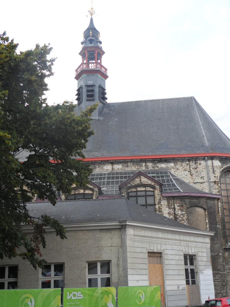 Beverhoutplein – 17e eeuwse kapel van de Baudeloabdij