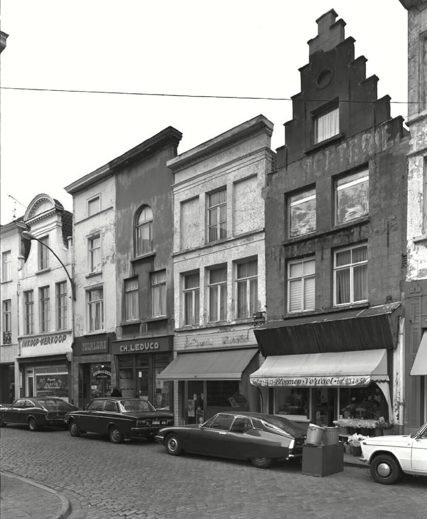 Wijzemanstraat - jaren 70 - pic inventaris.onroerenderfgoed.be