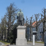 Begijnhoflaan - standbeeld Guislain