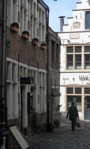 Corduwaniersstraat - restaurant Valentijn