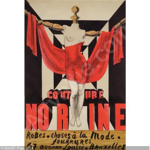 Couture Norine - René Magritte - pic Artvalue