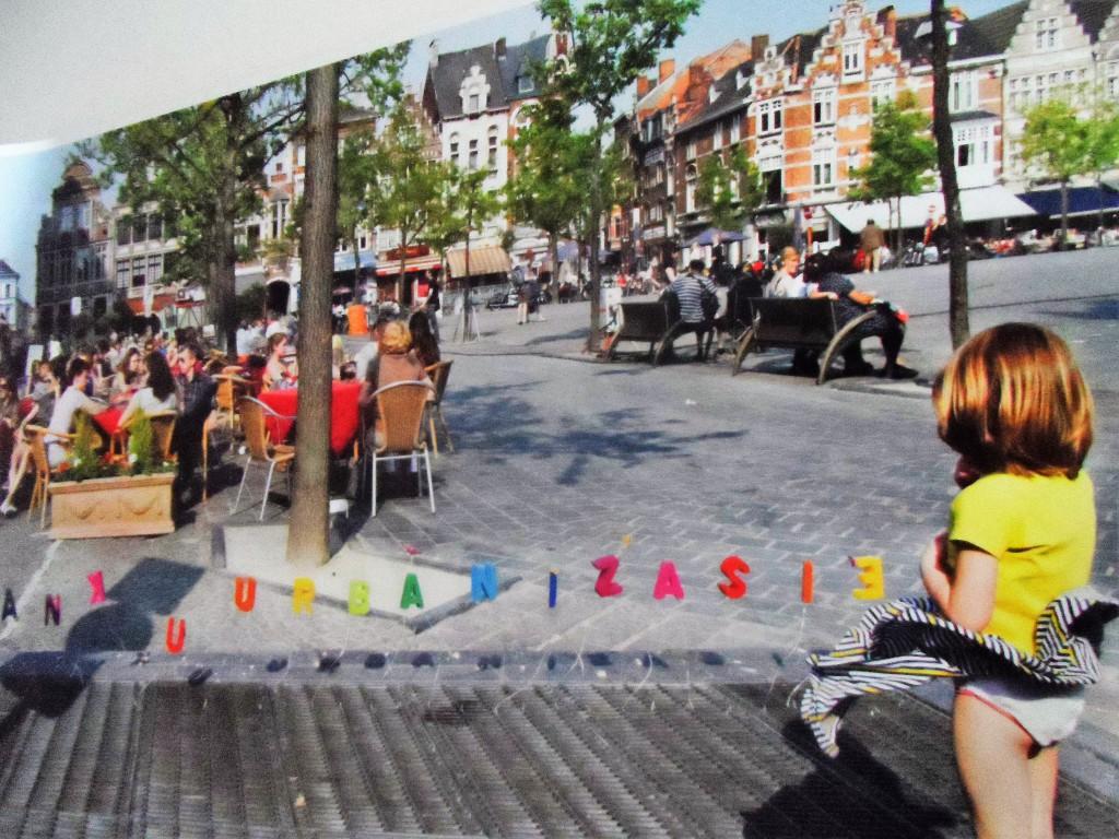 Meisje op Vrijdagmarkt - pic KASK