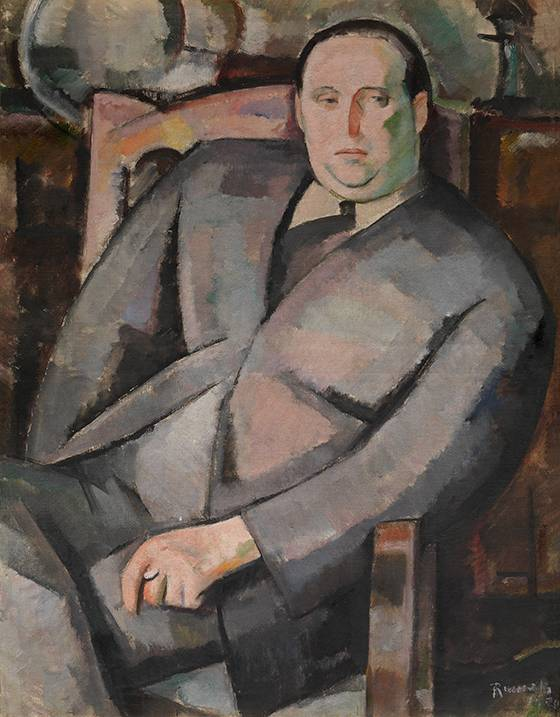 Paul-Gustave Van Hecke - portret door Henri-François Raemakers - pic kmska