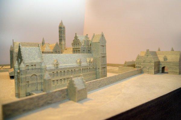Prinsenhof - maquette