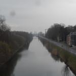 Mariakerke kanaal - zicht richting Gent
