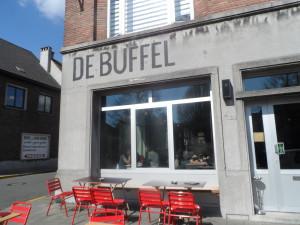 Gandastraat - café restaurant De Buffel