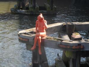 18 Visserij - Julius de Vigneplein - brug - Portus Ganda (1)