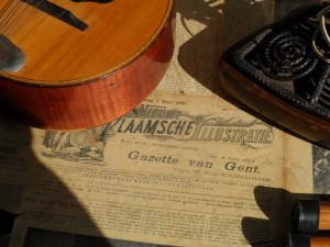 Gazette van Gent 1897 op Prondelmarkt