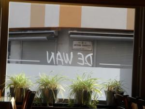 De Wan met zicht op Antoon Sanderusstraat