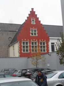 Achterkant Sint-Jan De Deo - Fratersplein