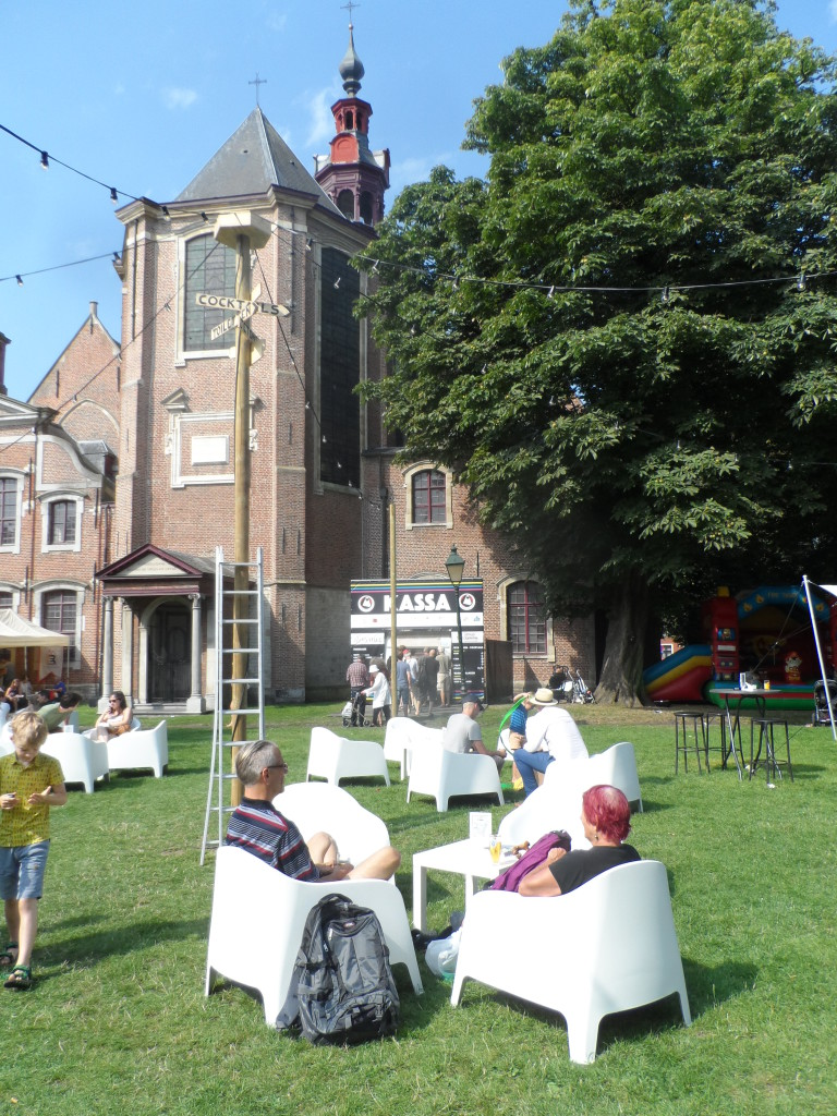 Begijnhofdriespark - Sint-Elisabethkerk