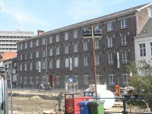 Werken Reep - zicht vanaf Bisdomplein - Sint- Bavo