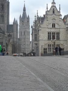 Sint-Michielshelling - rechts: hoekhuis