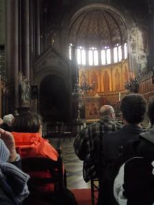 Sint-Annakerk - bezoek met Buren van de Abdij