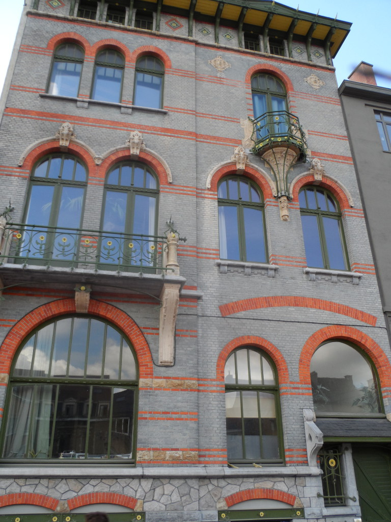 Visserij 157 - Art Nouveau Huis De Taeye