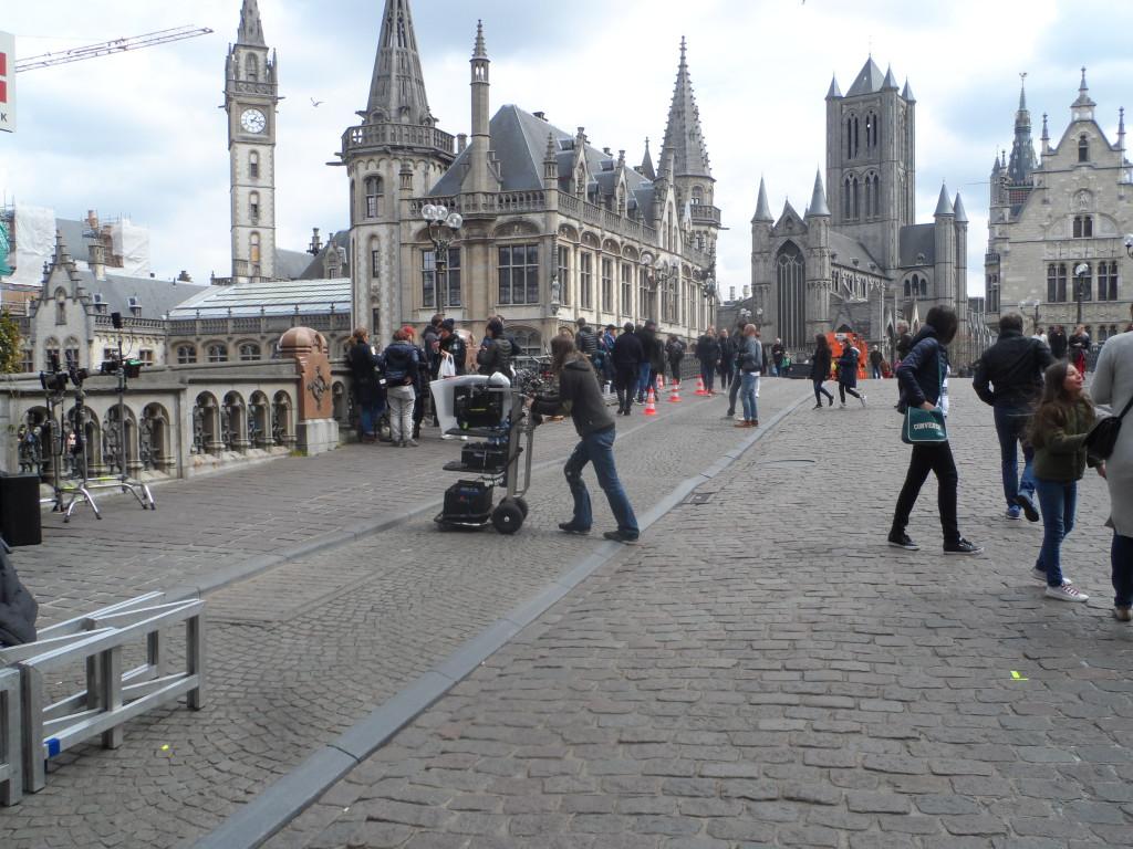 Sint-Michielshelling - filmopname