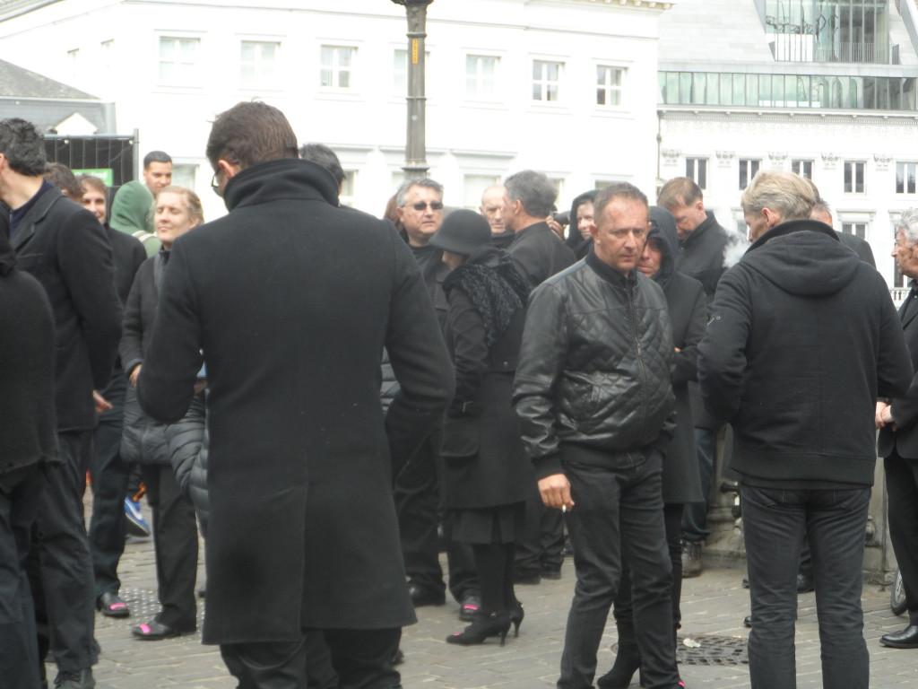 Sint-Michielshelling - figuranten klaar voor de aktie