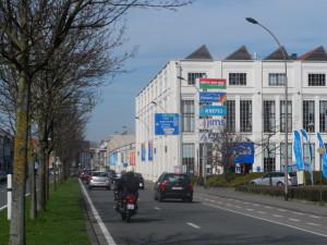 Rooigemlaan - Filature de Royghem - Union Cotonnière