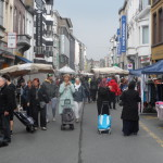 Lange Violettestraat - rommelmarkt in 2016