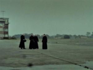 Oud vliegveld Sint-Denijs-Westrem - pauselijk bezoek