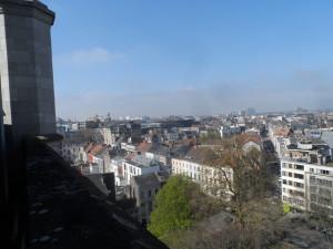 Vanuit Sint-Annakerk - zicht op Brabantdam
