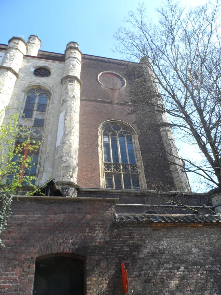 Sint-Annakerk - zicht vanuit Groene Ooie - hexagram is verwijderd