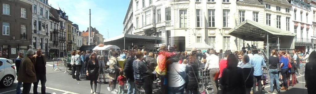 0 SAM_0158 Poel - Amateurkunsten Poel Parcours - Academie Muziek Woord Dans - Zicht op Sint-Michielsstraat Hoogstraat