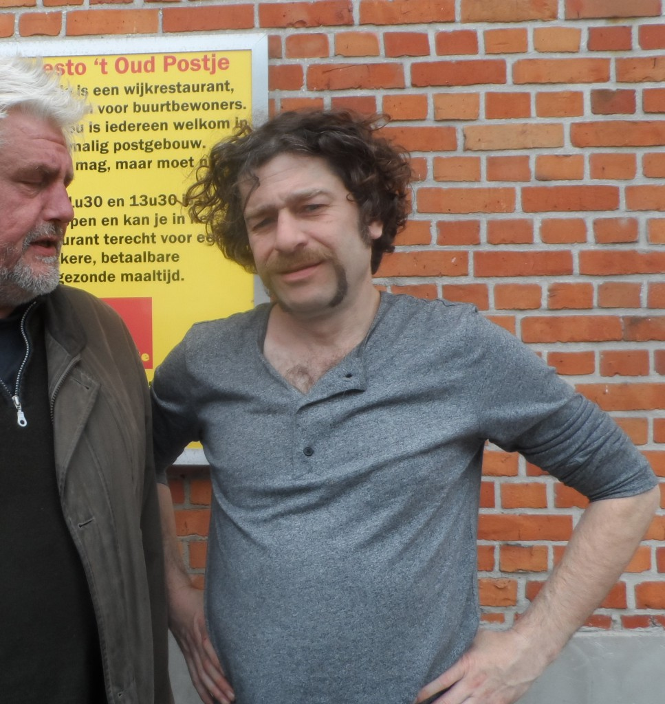 Bart Vanneste aka Freddy De Vadder en je scribent - Wijkrestaurant 't Oud Postje