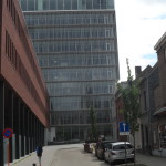 Voetweg - zicht vanuit Kantienberg - Ugent studentenrestaurant