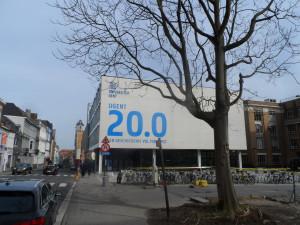 Sint-Pietersnieuwstraat - ufo - rectoraat - 200 jaar