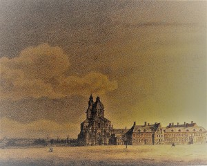 Sint-Pietersplein - collectie Wynantz 1820 - sogent