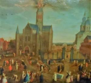 OLV kerk Sint-Pietersplein - afgebroken