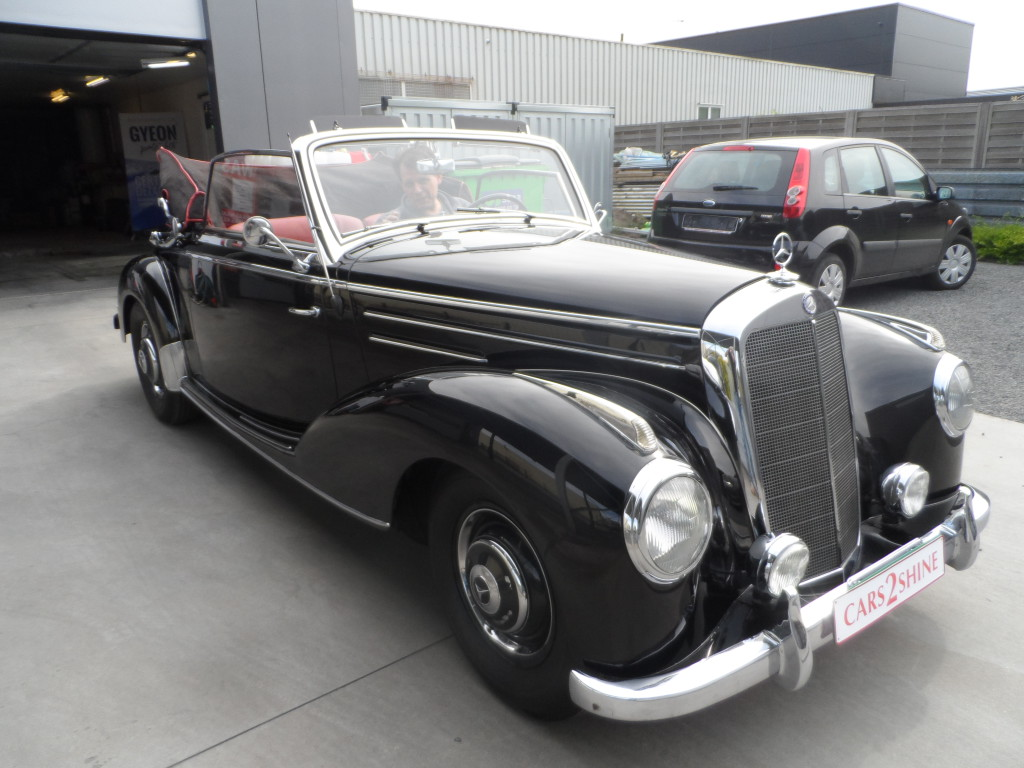 Wetteren - Cars2shine - Mercedes Benze 220 - 1952