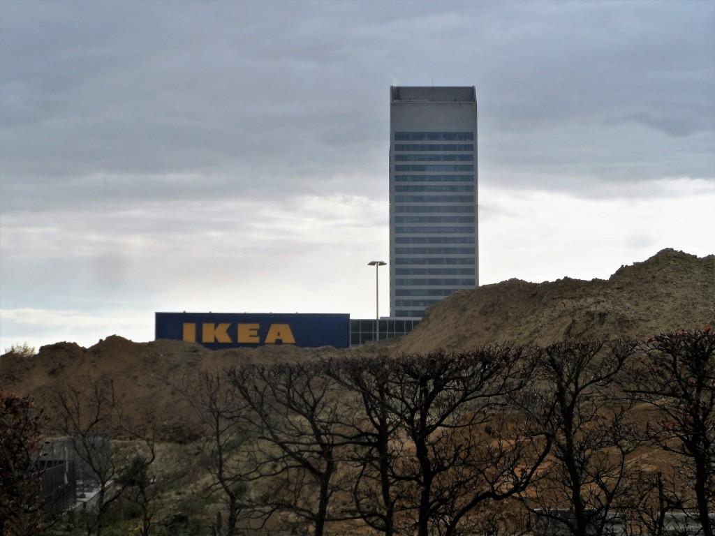 Maaltekouter - Sint-Denijs-Westrem - Flanders Expo -KBC toren - Ikea