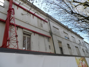 Villa Voortman - assistentieflats in opbouw