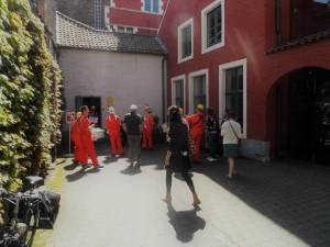 KU Leuven - Sint-Lucas - onvermoede toegang tot klooster