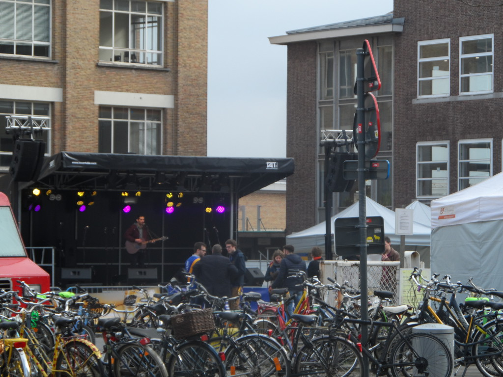 Concertje op Bataviaplein - vorige maart