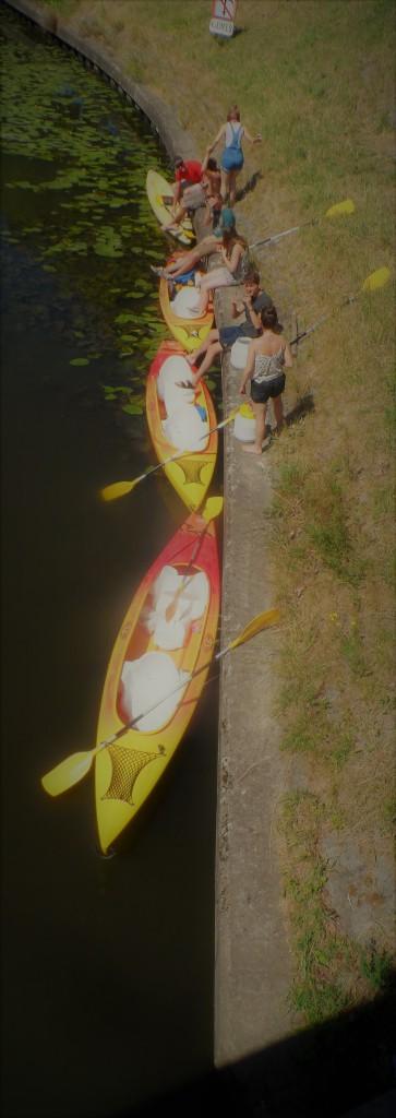 Coupure – Bij de Rozemarijnbrug... Zomerse watertaferelen